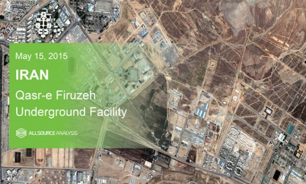 AR-20150515-IR-A - Iran - Qasr-e-Firuzeh-Underground-Facility